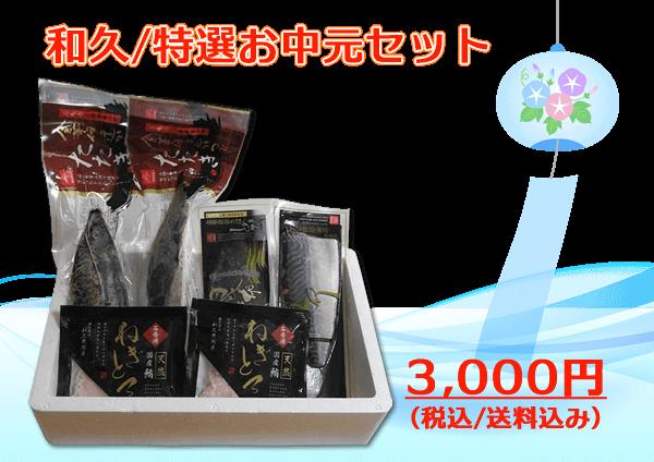 お中元 3,000円セット